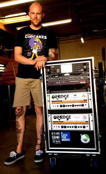 Aaron Brooks using Voodoo Lab GCX Guitar Audio Switcher