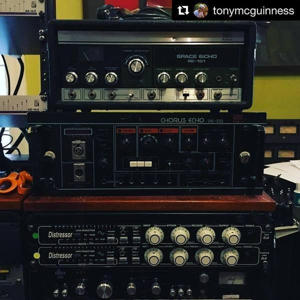Above & Beyond using Roland RE-501 Chorus Echo