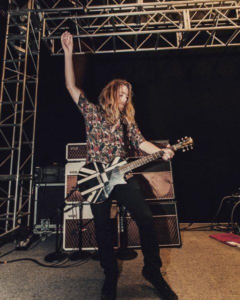 Adam Slack using Vox AC30 Guitar Combo Amp