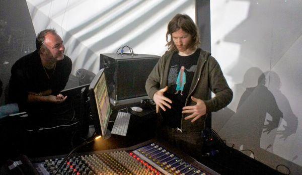 Aphex Twin using Avid Pro Tools 11