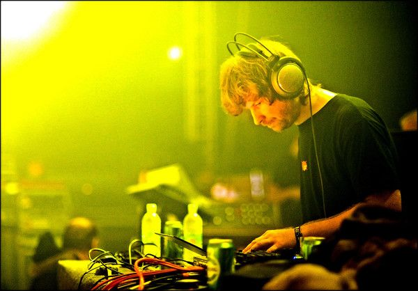 Aphex Twin using Sony MDR-CD1700