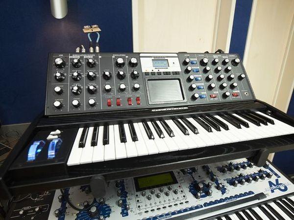 Armin Van Buuren using Moog Minimoog Voyager