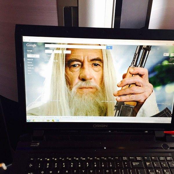 Avicii using Origin EON15-S Laptop