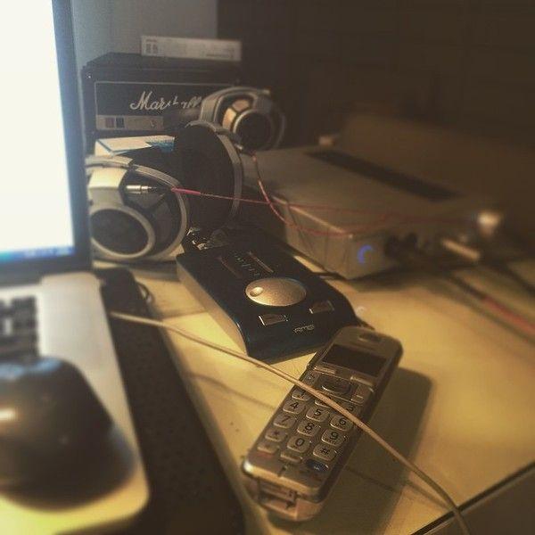 Avicii using Sennheiser HDVD 800 Headphone Amplifier with DAC