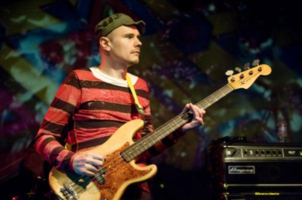 Billy Corgan using Fender Precision Bass