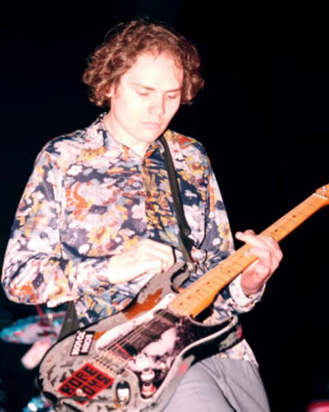 Billy Corgan using Fender Stratocaster Electric Guitar