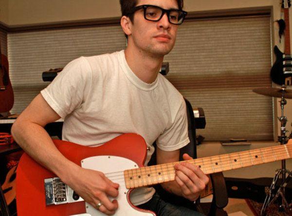 Brendon Urie using Fender Telecaster