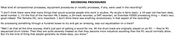 Brian Eno using Eventide H3000S UltraHarmonizer