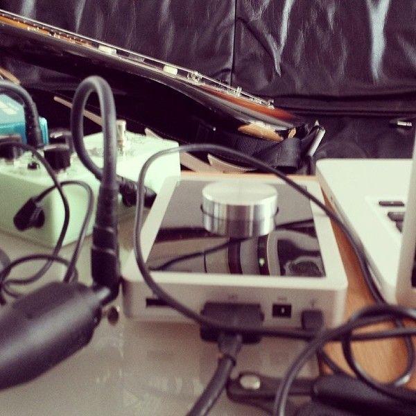 Brynjar Leifsson using Apogee Duet FireWire Audio Interface