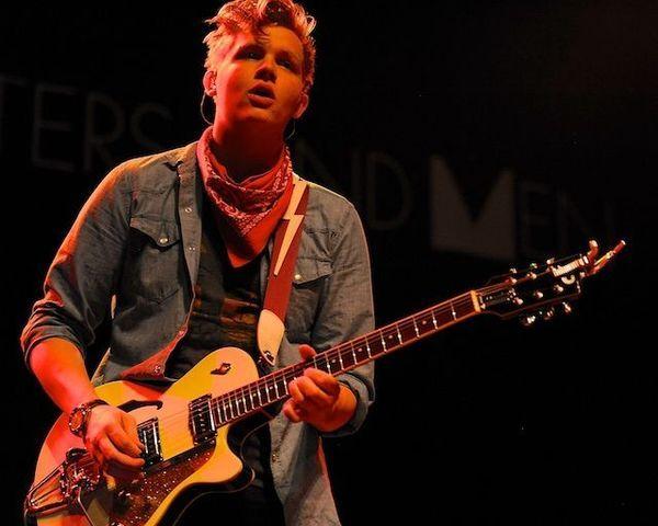 Brynjar Leifsson using Duesenberg Starplayer TV Electric Guitar