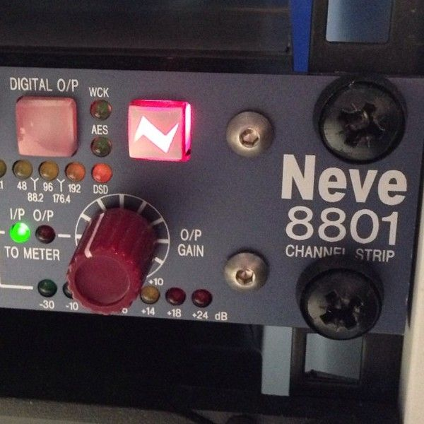 Calvin Harris using Neve 8801 Channel Strip
