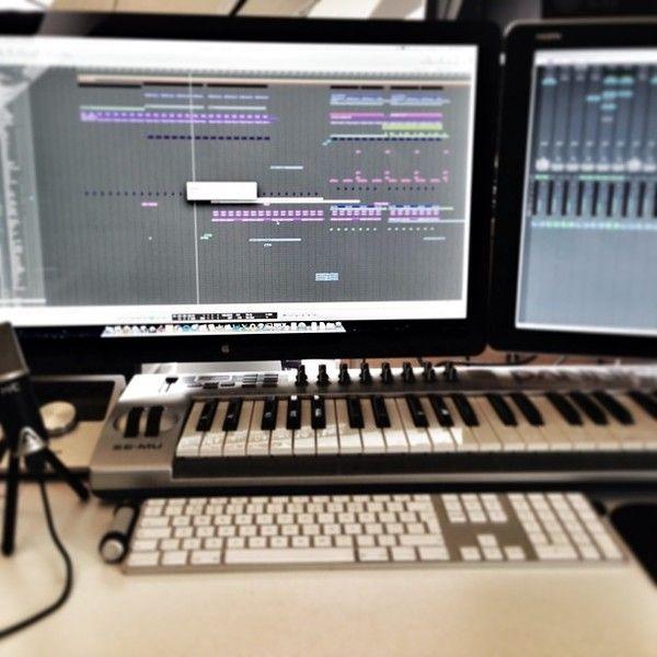 Dannic using E-Mu Xboard 49 USB MIDI Controller