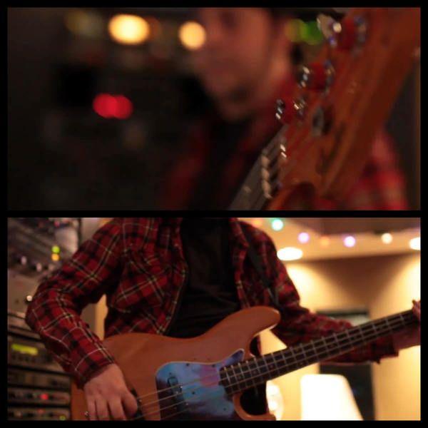 Daron Malakian using Fender Jazz Bass