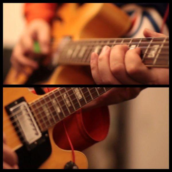 Daron Malakian using Gibson ES-150DC