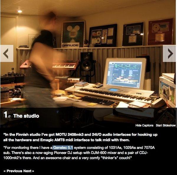 Darude using Pioneer DJM-600 Mixer