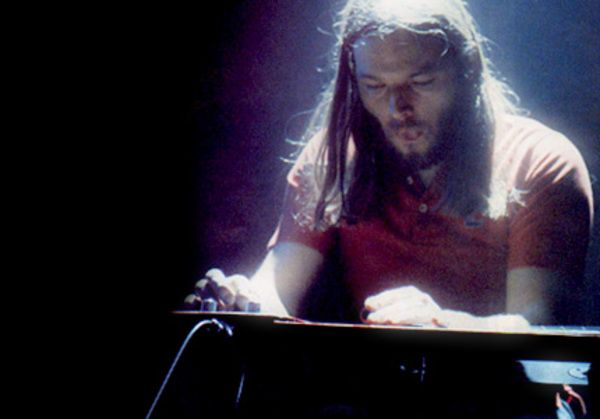 David Gilmour using Jedson Lap Steel