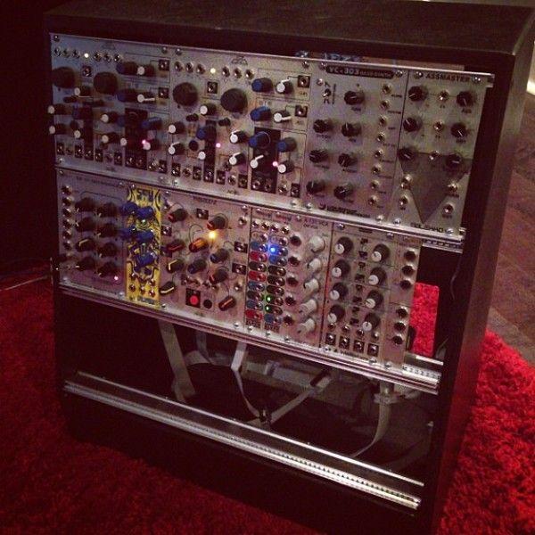 Deadmau5 using Make Noise DPO