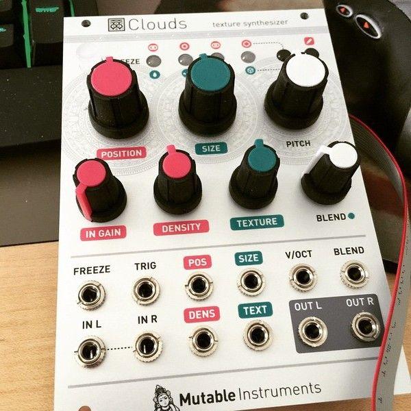 Deadmau5 using Mutable Instruments Clouds