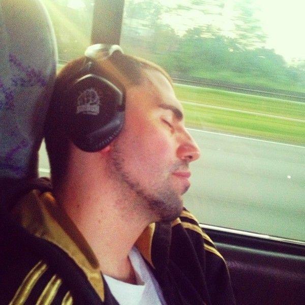 Dimitri Vegas & Like Mike using V-Moda Crossfade LP2 Over-Ear Headphones