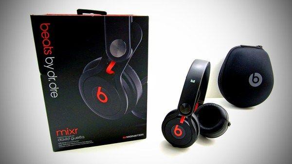 Dr. Dre using Beats By Dr. Dre Mixr On-Ear Headphones Black