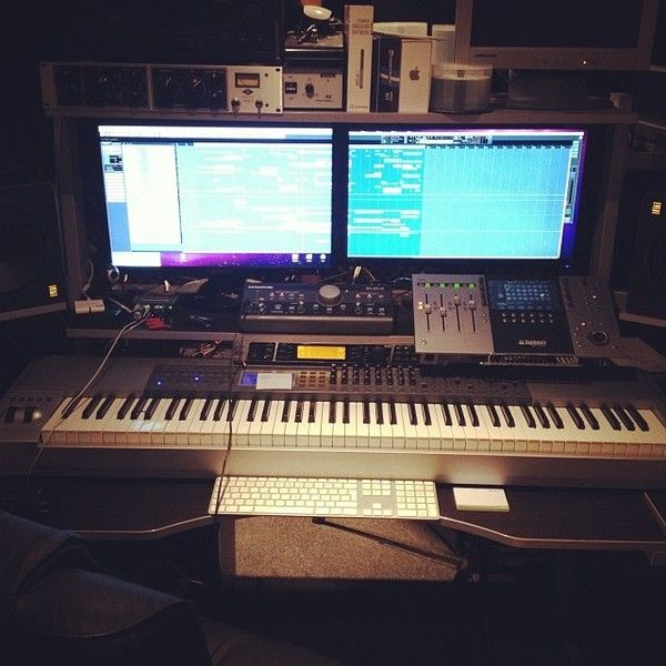 Eddie Thoneick using Mackie Big Knob Studio Command System