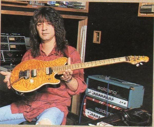 Eddie Van Halen using Soldano SLO 100 100-Watt Tube Guitar Amplifier