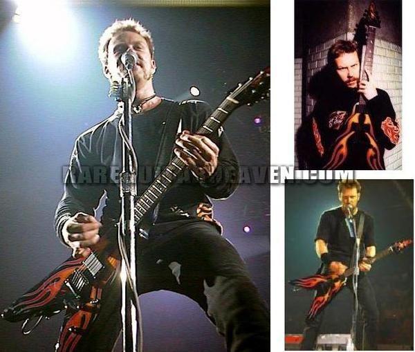 James Hetfield using ESP JH-1