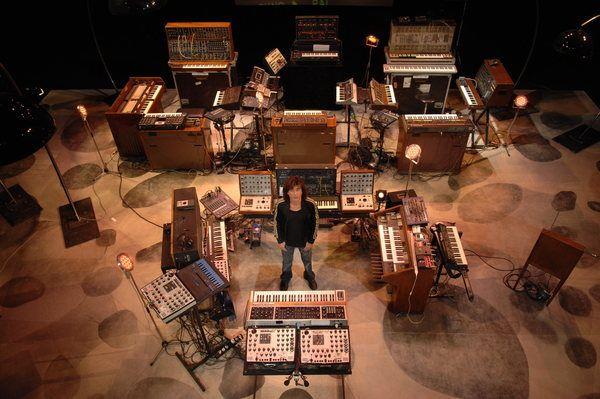 Jean Michel Jarre using Moog Liberation