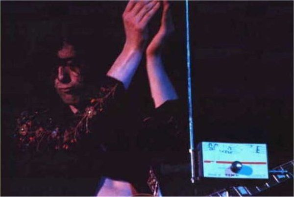 Jimmy Page using Sonic Wave Theremin