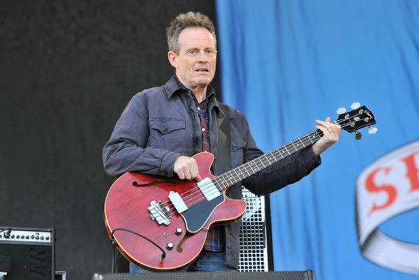 John Paul Jones using Gibson EB-2 Bass Guitar