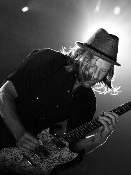 Jon Foreman using Gibson SG Standard Electric Guitar