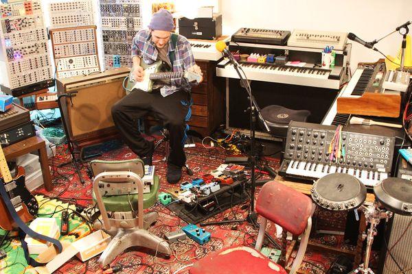 Josh Klinghoffer using D*A*M Colorsound Sola Sound MK 1.5 Vintage Tonebender Fuzz Pedal