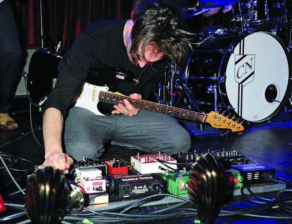 Josh Klinghoffer using Electro-Harmonix POG2 Polyphonic Octave Generator Guitar Effects Pedal