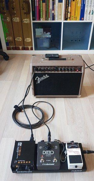 Julian Wolf using Thomann Electric Guitar Tweed Case
