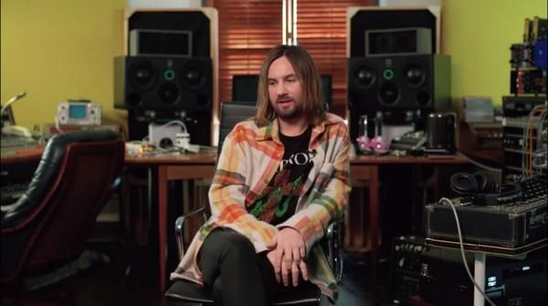 Kevin Parker using Audio-Technica ATH-M50x Professional Monitor Headphones