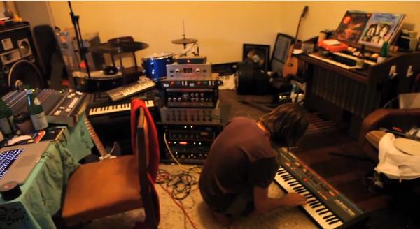 Kevin Parker using Roland Juno-106
