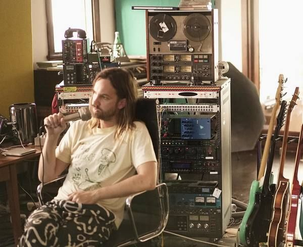 Kevin Parker using TEAC A-2340