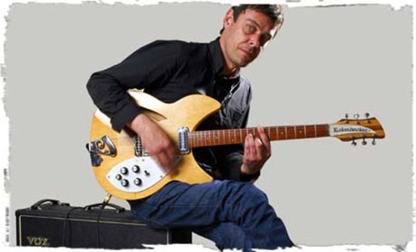 Mick Whitnall using Rickenbacker 330 Electric Guitar