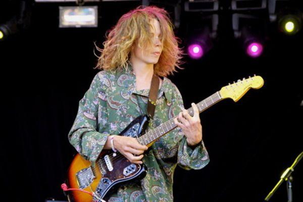 Nick Allbrook using Fender Jaguar Electric Guitar