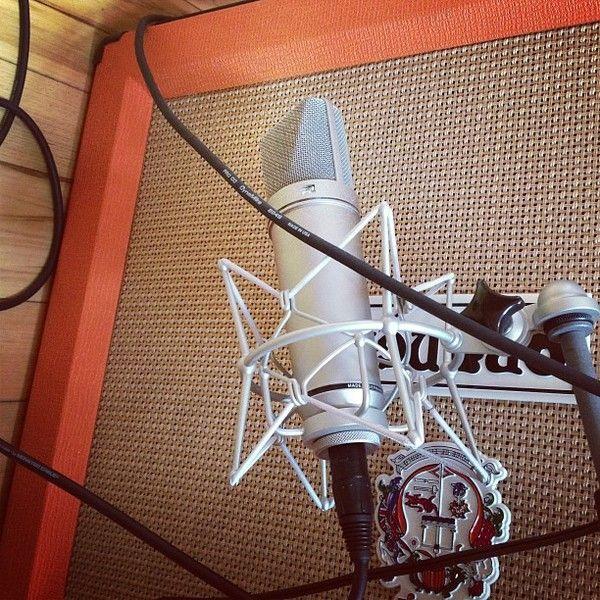 Owl City using Neumann U-87 Condenser Microphone
