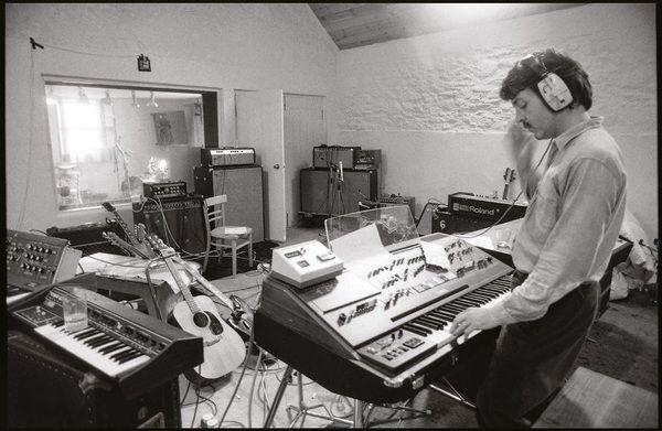 Paul McCartney using ARP Pro Soloist