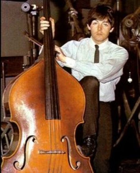 Paul McCartney using Upright Bass