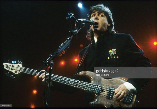 Paul McCartney using Wal MK2 5 string bass