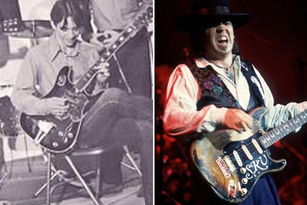 Stevie Ray Vaughan using conqueror