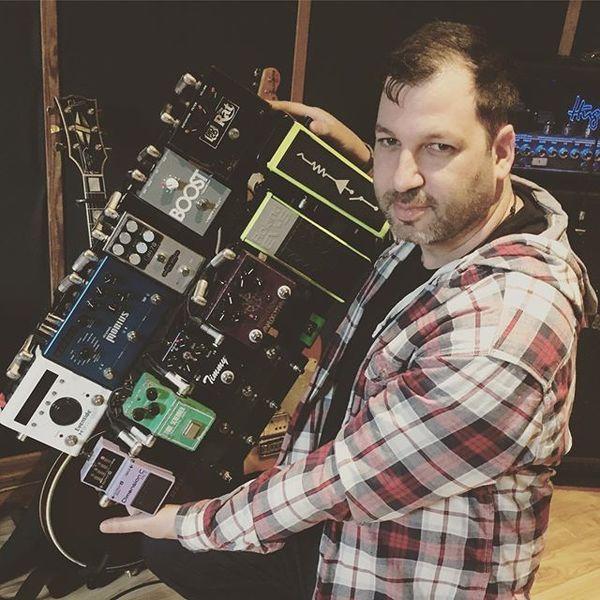 Ziv Tamari using Analog Man King of Tone Overdrive Guitar Effect Pedal