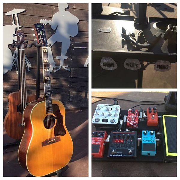 Ziv Tamari using Boss CE-2 Chorus Guitar Effect Pedal
