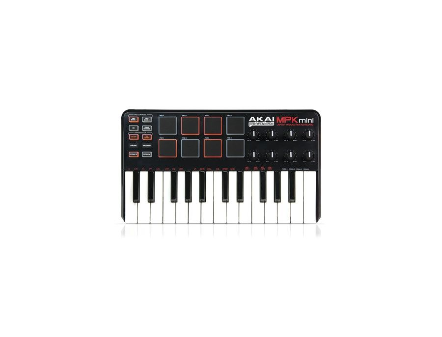 Akai MPK Mini Laptop Production Keyboard Picture