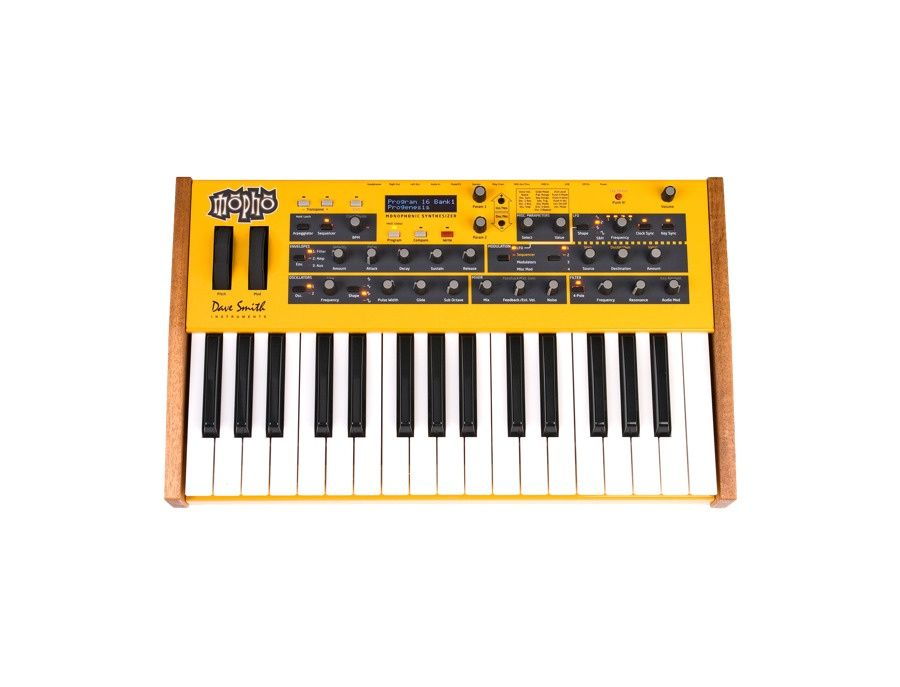 Dave Smith Instruments Mopho Synthesizer Picture