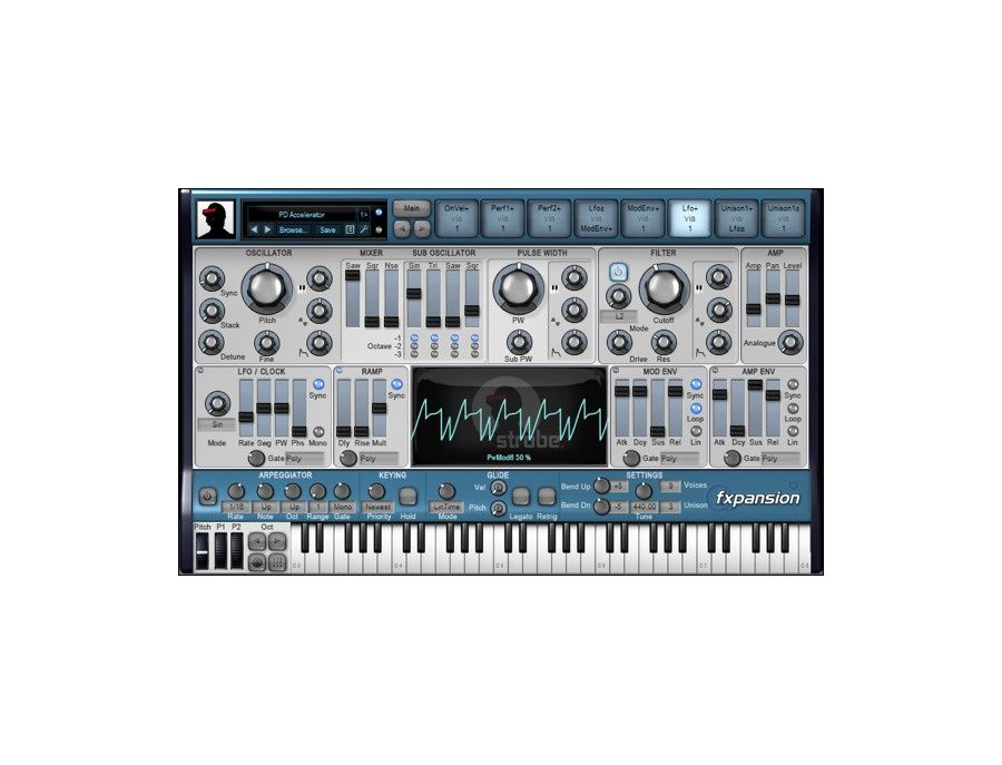 FXpansion Strobe Software Synthesizer Plugin Picture
