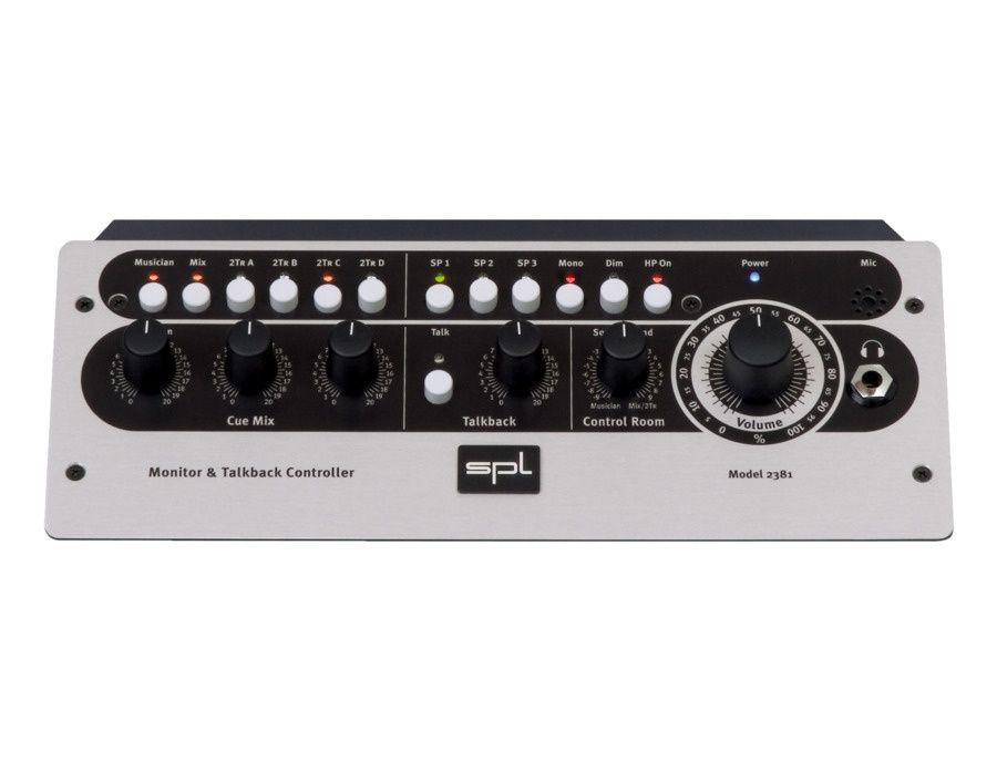 SPL MTC 2381 Monitor Talkback Controller Picture